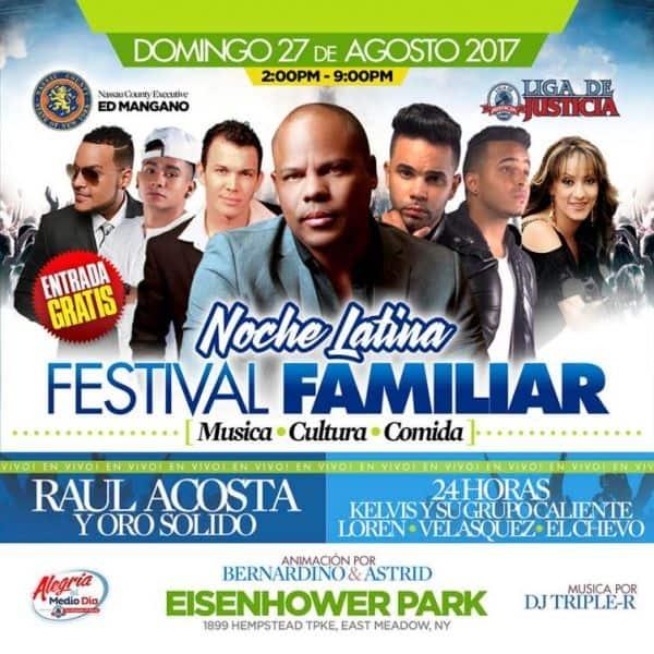 Noche Latina Festival Familiar.