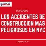 Descubre los 4 tipos de accidentes de construcción con mayor tasa de mortalidad en NYC.