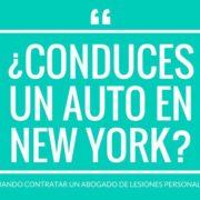 Técnicamente no se precisa contratar un abogado de accidentes de auto para presentar un reclamo por lesiones personales contra una compañía de seguros en New York.