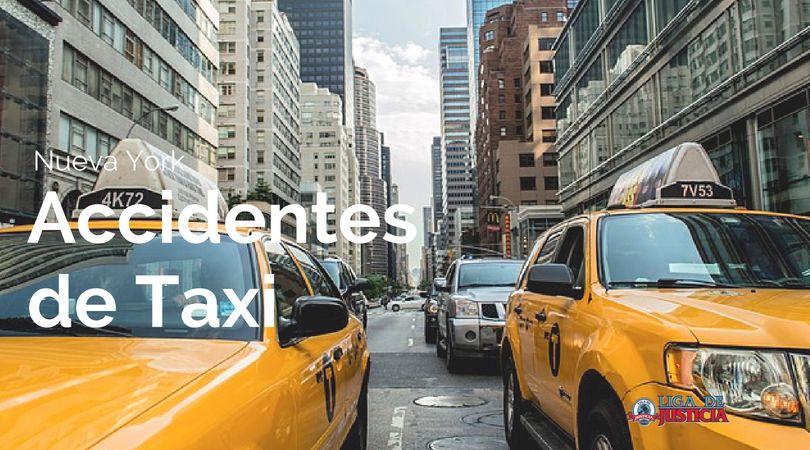 Accidentes de taxi en Nueva York: ¿Quién es responsable por las lesiones? Liga de Justicia Abogados.