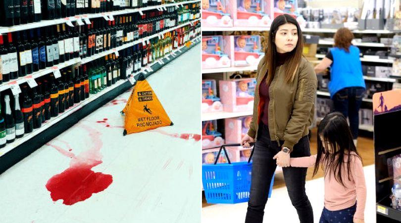 Los empleados de Walmart son responsables de mantener el local libre de peligros o con señalización adecuada.