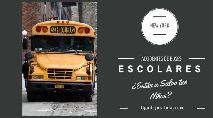 Accidentes de buses escolares: ¿Están a salvo tus niños?