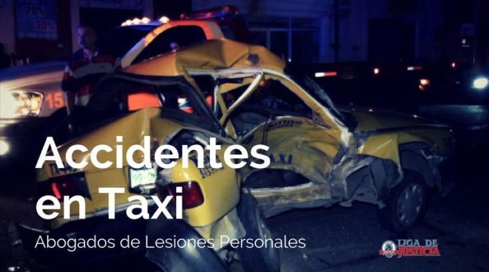 Si has sufrido heridas, laceraciones, contusiones u otro tipo de lesión por accidentes en taxi, debes hablar con nuestros abogados de lesiones personales.