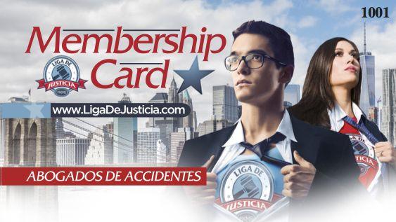 tarjeta de membresia de liga de justicia - descuentos en servicios legales - long island - queens - new york