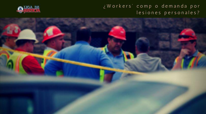 Nuestros abogados nos cuentan las diferencias entre un caso de workers' comp y una demanda por lesiones personales en accidentes en la construcción.