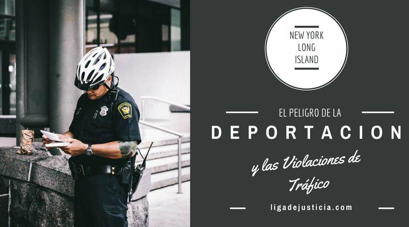 Si eres un inmigrante indocumentado, una violación de tráfico puede convertirte en prioridad para la deportación.