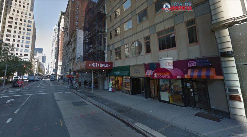 Las oficinas de Liga de Justicia en NYC en 321 Broadway. Si te has sufrido un accidente en NYC, el Bronx, Brooklyn o Queens, llámanos. Te atenderemos en nuestras oficinas o iremos a verte a tu casa, trabajo u hospital.