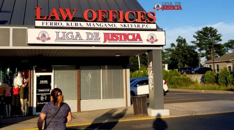 Nuestras oficinas en Brentwood, NY. Liga de Justicia, los mejores abogados de accidentes en New York dedicados a la comunidad Hispana.
