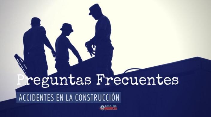La falta de entrenamiento entre los jornaleros y trabajadores en las obras son causa de lesiones graves. No dejes de leer estas preguntas frecuentes sobre accidentes en la construcción.