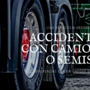 Solo comparando el peso de un vehículo con el otro, es fácil imaginar que con seguridad un choque con un camión causará graves daños y lesiones al conductor y a los pasajeros del carro.