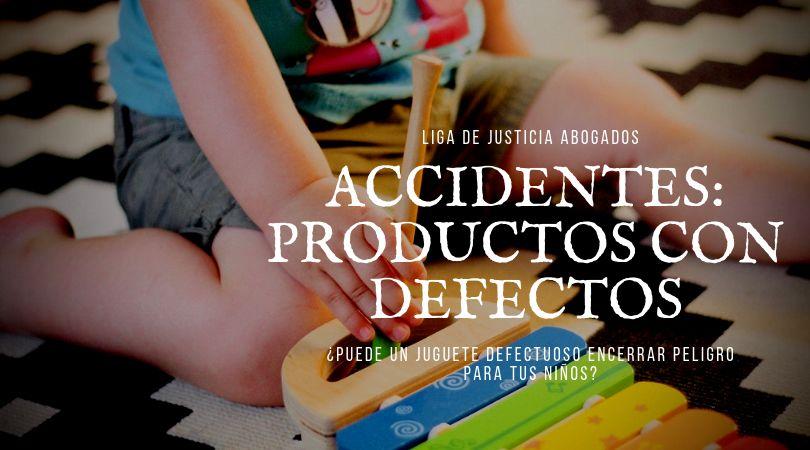 Es posible que las piezas del juguete más pequeñas sean fáciles de romper. Sin advertencia, si una persona se lesiona debido a un producto defectuoso, mientras lo usa como debe, puede demandar por responsabilidad del producto.