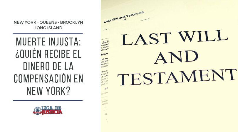 Si crees que un testamento o las leyes determinan con exactitud quién recibe dinero en reclamos por muerte injusta en New York, te equivocas. Descubre todos los detalles y las explicaciones de estos conceptos legales.