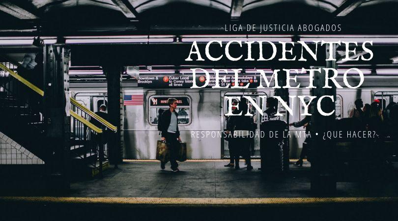 Las víctimas de accidentes en las estaciones de tren del Metro de NYC, pueden tener derecho a compensación de la MTA. ¡Descubre tus derechos!