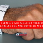 ¿Quieres saber cómo se calculan los salarios perdidos si te has lesionado en un accidente de auto? Aquí van los detalles.