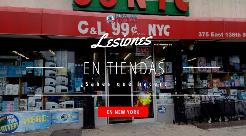 Un paso a paso para saber qué hacer si te lesionas en una tienda en Nueva York. 99 cent store en NYC.