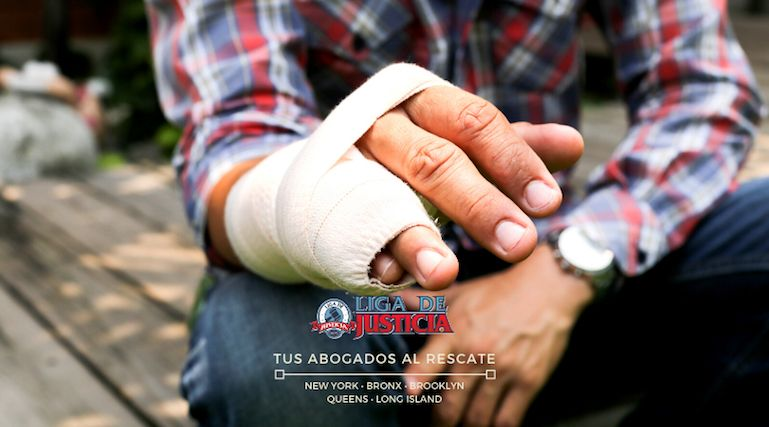Accidentes con fracturas de huesos. Abogados de lesiones • Suffolk • Nassau • Queens • Brooklyn • Bronx • New York