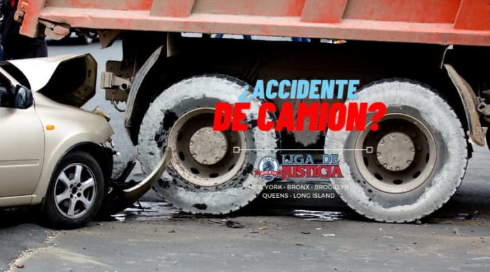 Abogados de accidentes de camiones en Suffolk, Nassau, Queens, New York y el Bronx.