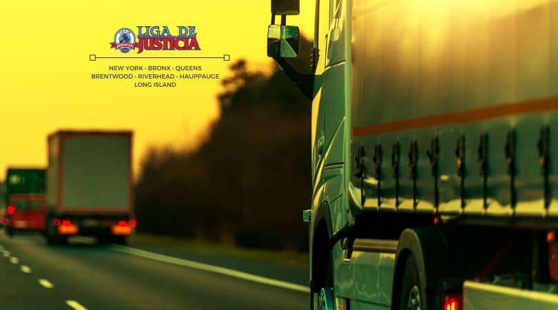 Los tipos de accidentes de camiones dependen de cómo ocurre el choque con los vehículos comerciales.