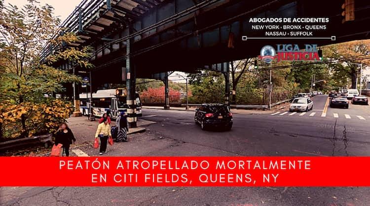 Peatón atropellado fallece en Citi Fields, Corona Park - Flushing Meadows en Queens.