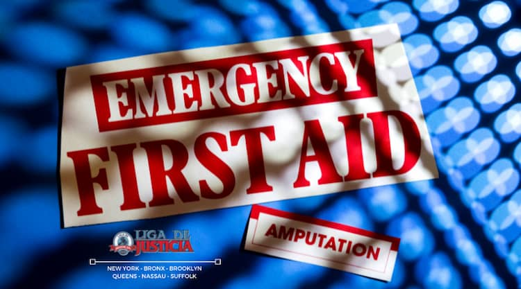 La pérdida de extremidades en accidente de auto o de trabajo es considerada una lesión catastrófica.