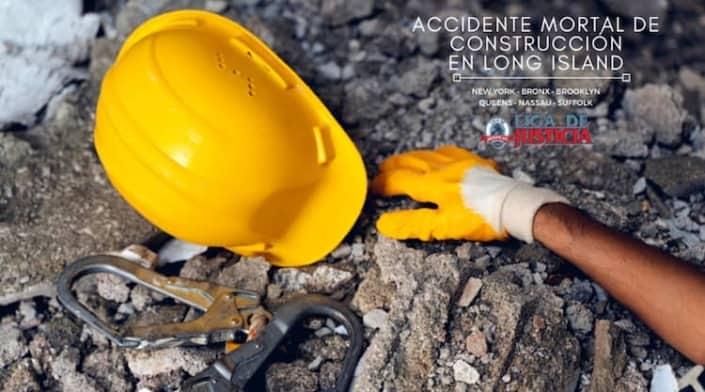 Muere trabajador de construcción en Long Island, NY.
